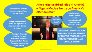Ariwo Nigeria lóri èsi Idibo ni Amẹ́rikà: Nigerian Media's frenzy on US Election.